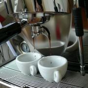 A espresso shot