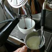 cappuccino šlehání